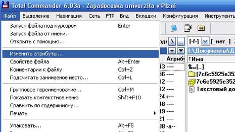Установка прав 777 на папку файловый менеджер
